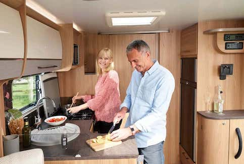 Bailey Caravan Kitchens